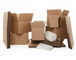 Packing boxes in Edinburgh