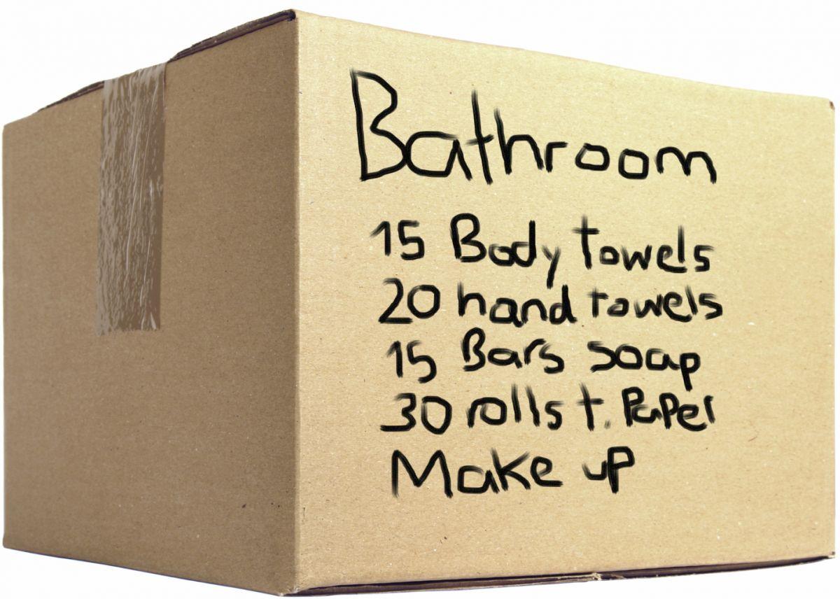 Tips on packing the items in your bathroom for moving