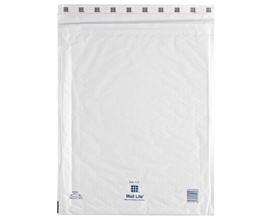 MailLite White K7 Bubble Lined Postal Bag (50/Box)