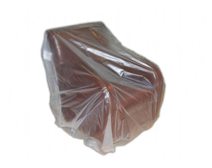 Clear Polythene Armchair Cover