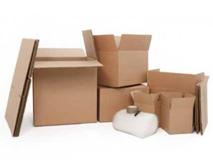 Student home moving boxes and accessories