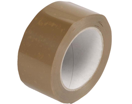 Brown Packing Tape (46mm x 66m) - 6 Pack